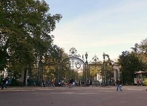 Uma das entradas principais do parque: a Porte des Enfants du Rhône<br />Foto: Jovanka Baracuhy C. Scocuglia.