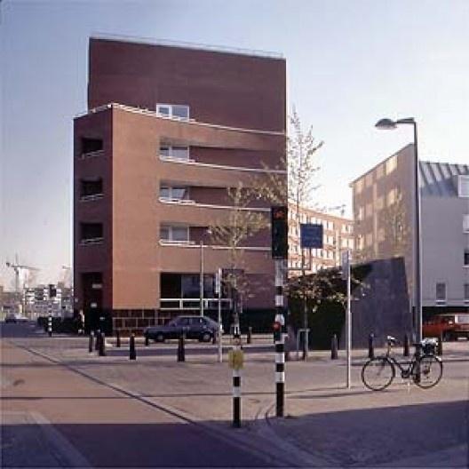 "Edifício residencial ""Arco-íris"", Céramique, Maastricht, Holanda"