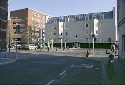 """Edifício residencial """"A fachada"""", Céramique, Maastricht, Holanda"""