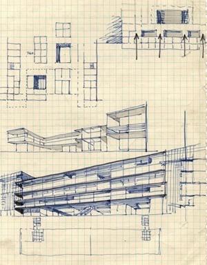 Arquitextos representaci n gr fica del edificio y for Representacion grafica de planos arquitectonicos