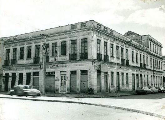 Antigo Hotel Tassi<br />Acervo Ippuc, 1982
