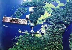 31 de agosto de 2003: no Ariau Jungle Towers