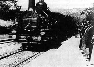 A chegada de um trem a Ciotat