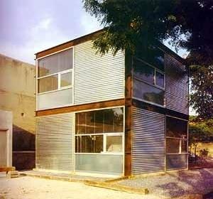 Oficinas El Cubo, Monterrey. Arquiteto Alexandre Lenoir<br />Roberto Segre