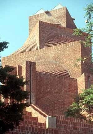 Igreja Episcopal do Cristo, Lomas de Chapultepec. Arquiteto Carlos Mijares<br />Roberto Segre