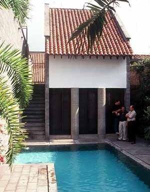 Casa La Queja, Cali. Benjamin Barney-Caldas<br />Foto Roberto Segre