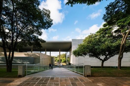 Biblioteca Brasiliana USP, São Paulo, 1999-2013. Arquitetos Eduardo de Almeida e Rodrigo Mindlin Loeb<br />Foto Nelson Kon