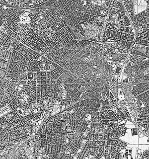 1.2. Expansão e compactação do tecido urbano em 30. Fonte: SARA Brasil, 1930