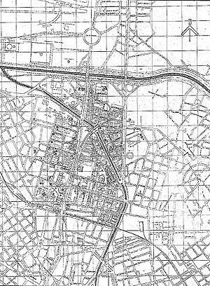 1.3. Uma delimitação: a zona Z-8 da Luz. Fonte: CESAR, R. C, FRANCO, L. R. C., BRUNA, P. J. V, 1977
