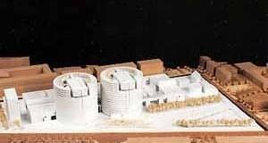 Concurso para La Isla, Barcelona. Projeto de Mario Botta