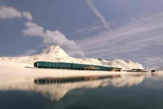 Estação Antártica Comandante Ferraz, 1º lugar no concurso. Escritório Estúdio 41