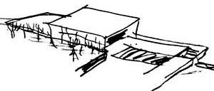 Projeto de uma casa para a cidade de Taubaté. Arq. Vilanova Artigas [Acervo FAU-USP]