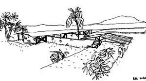 Casa de Campo. Arq. Vilanova Artigas [Acervo FAU-USP]
