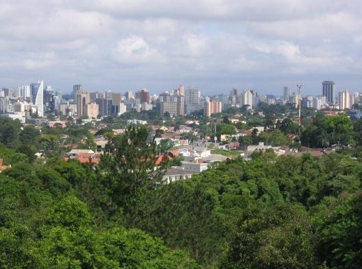 Vista de Curitiba<br />Foto Henribergius