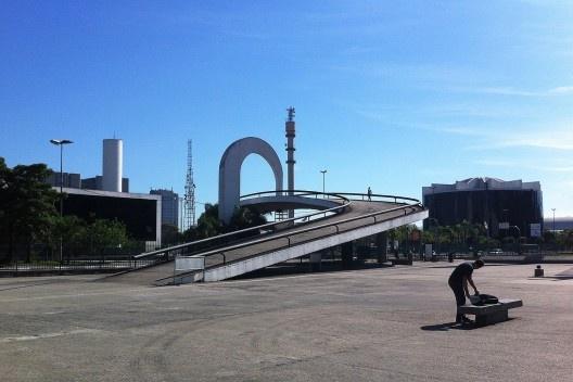 Memorial da América Latina, São Paulo<br />Foto Abilio Guerra
