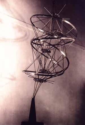 Constant, Inclined Spiral [espiral inclinada],1958 [Andreotti, Libero e Xavier Costa, (ed.). Situationistes; art, política, urbanisme. Barcelo]