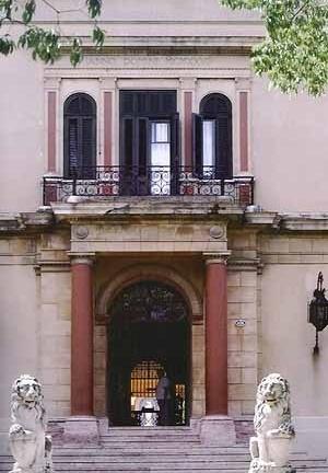 Casa de Juan Pedro Baró, entrada