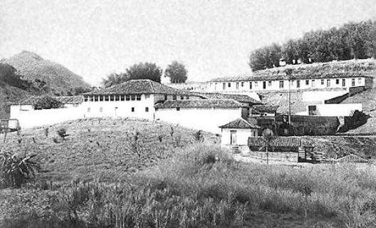 Fazenda colonial<br />Foto histórica