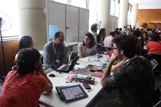 Equipo del proyecto Todas tus ideas: hacia un protocolo para activar procesos participativos en el espacio público<br />Foto Ivo Santiago Beracasa