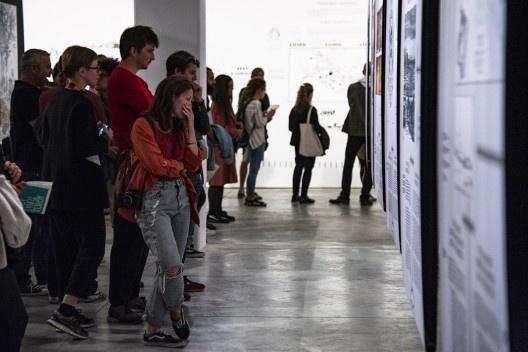 """Exposição """"Arquitetura e agricultura: do lado do campo"""", Trienal de Arquitetura de Lisboa 2019<br />Foto Hugo David"""