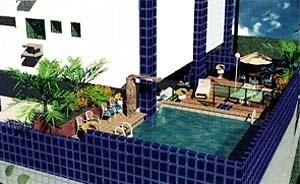Figura 04 – Edifício Tamari, área de lazer, prospecto promocional da Hábil Engenharia Ltda