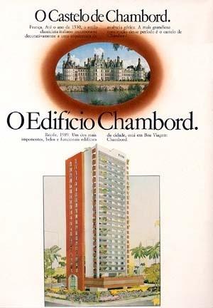 Figura 17 – Prospecto promocional do Edifício Chambord. Construtora CONIC