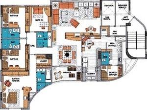 Figura 19 – Edifício Maria Clementina Vianna, planta baixa do apartamento-tipo [site da Gikatz Construtora]