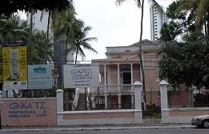 Figura 20 – Edifício Maria Clementina Vianna, imóvel original, listado como IEP nº 76 [site da Gikatz Construtora]