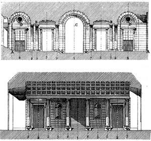 Julien Guadet, Éléments et théorie de l'architecture, vol.2 [DEVILLERS, Charles et alli. Op. cit., p. 99]
