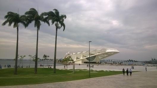 Nova Praça Mauá, vista do Museu do Amanhã, Rio de Janeiro<br />Foto Masao Kamita