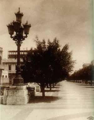 Paseo del Prado, La Habana, Jean N. Forestier [Revista Social, Director artistico Conrado Massaguer/ Coleção de Fotos do Arquivo da Bibli]