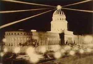 Edificio del Capitolio Nacional, La Habana [Revista Social, Director artistico Conrado Massaguer/ Coleção de Fotos do Arquivo da Bibli]