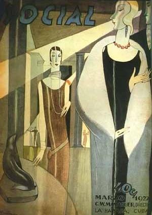 Revista Social, Director artistico Conrado Massaguer, La Habana, 1927