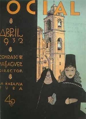 Revista Social, Director artistico Conrado Massaguer, La Habana, 1932