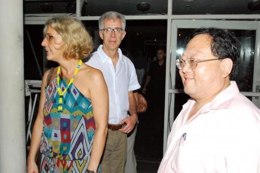 Yara Kerstin, Vladimir Bartalini e Paulo Fujioka<br />Foto Thomas Bussius