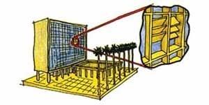 MES. As proteções externas podem ser pensadas como elemento compositivo de fachada<br />Ilustrações de Luciano Dutra