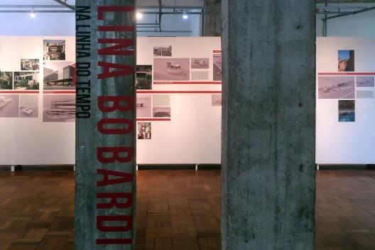 """Exposição """"Lina Bo Bardi na Linha do Tempo"""", curadoria de Zeuler Lima<br />Foto Abilio Guerra"""