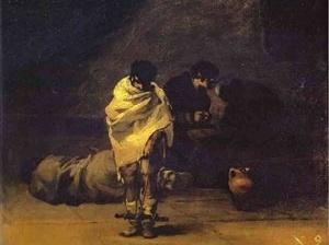 Loucos no manicômio. Franscisco de Goya y Lucientes. Museu do Monastério de Guadalupe