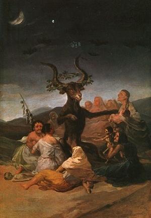 O Sabbat das bruxas. Francisco Goya y Lucientes, 1798. Museu do Prado, Madri