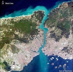 Vista aérea de Istambul