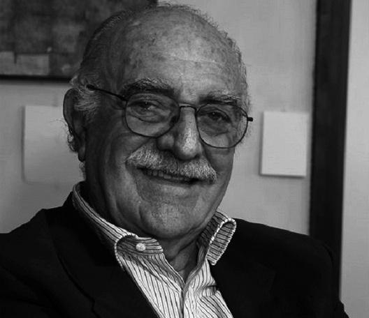 Gian Carlo Gasperini (Castellamare di Stabia, Itália 20/08/1926 – São Paulo, Brasil, 15/07/2020)<br />Foto divulgação