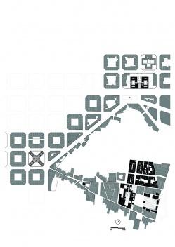 Representación del área de análisis [dibujo de la autora]