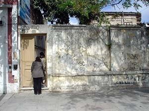 Foto del frente de una Casa Tomada<br />Foto El Ceibo