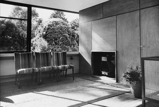 Vista interna de la casa [Revista Nuestra Arquitectura N8, agosto 1947]