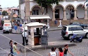 Guarita da Praça: a institucionalização do desvario<br />Foto Daniel J. Mellado Paz