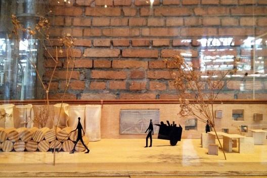 Projeto e transformação de um muro em Tiquatira, Zona Leste. Trabalho de Conclusão de Curso na Escola da Cidade<br />Foto Renato Anelli