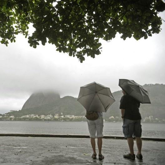 Tempo ruim no Rio de Janeiro<br />Foto Tânia Rêgo  [Agência Brasil]