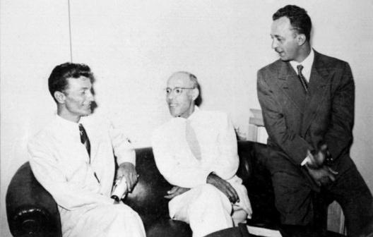 Bruno Giorgi, Mario de Andrade e Luis Saia, fonte: archivio Iphan
