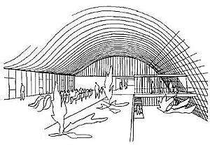 Croqui do arquiteto João Filgueiras Lima - Lelé