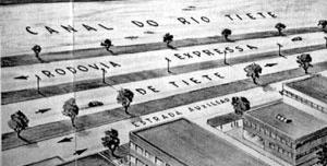Via expressa marginal, Robert Moses [MUNIZ, Cristiane. A cidade e os trilhos: o Metrô de São Paulo como desenho urbano]